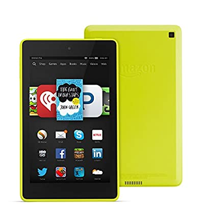 "Fire HD 6, 6"" HD Display, Wi-Fi, 8 GB - Includes Special Offers, Citron"
