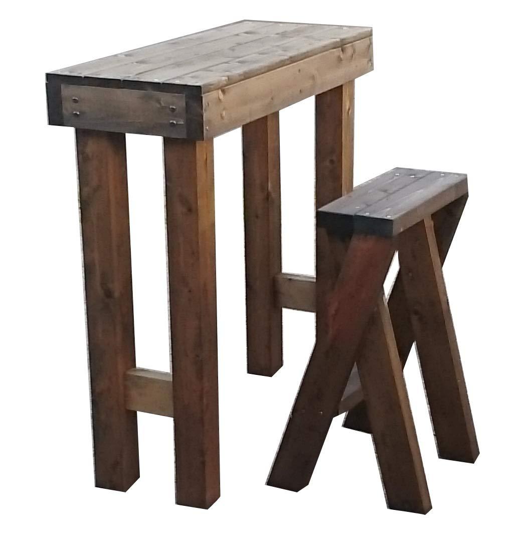 ガーデン ハイテーブルセット B07DDGVRMH