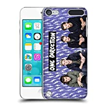 Official One Direction Purple Group Icon Hard Back Case for iPod Touch 5th Gen / 6th Gen