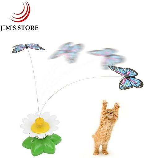 Juguete de giro de la mosca del gato, JIMS STORE Paquete de 2 ...