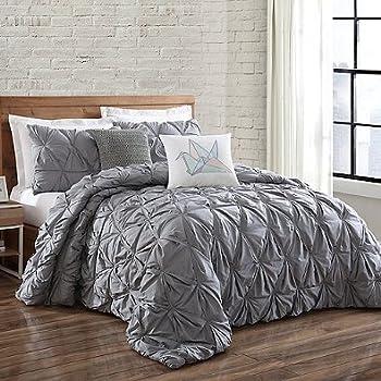 Amazon Com Brooklyn Loom Sand Washed Cotton Comforter Set