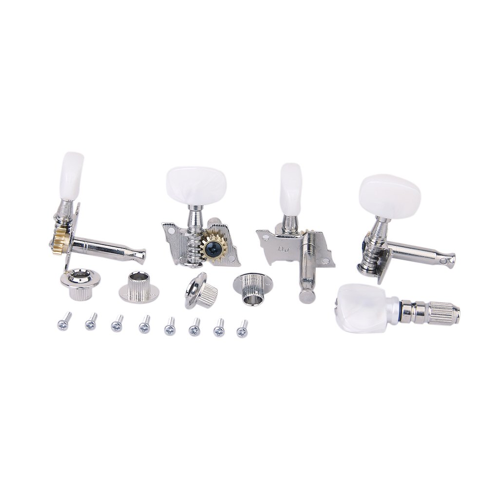 5pcs/Set Banjo Machine Head Tuning Tuner Peg/Key with 4 Bushings Generic STK0115009018