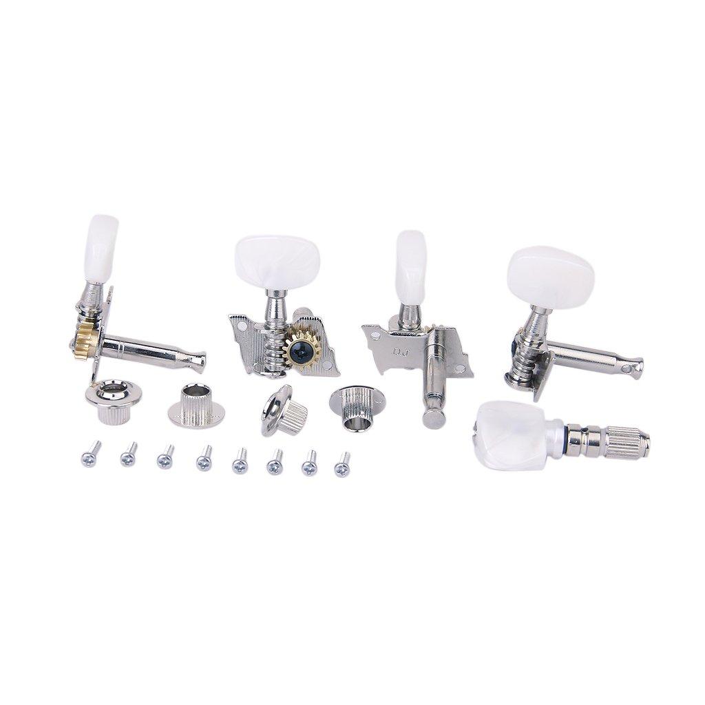 VStoy 5pcs/Set Banjo Machine Head Tuning Tuner Peg/Key with 4 Bushings