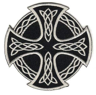 - The Celtic Cross Round PATCH, by:
