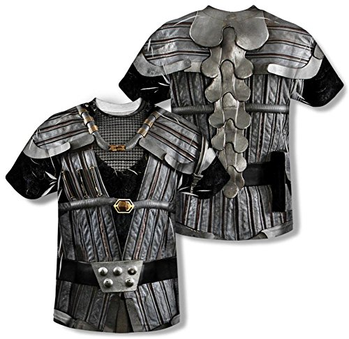 Star Trek - Klingon Uniform Costume Tee (Front/Back Print) T-Shirt Size XXL (Star Trek Enterprise Uniform)