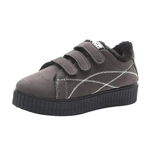 Zapatillas de Vestir Plateadoforma para Mujer Invierno Primavera PAOLIAN Calzado Casual Tacón Grueso Elegantes Fiesta Zapatos Aire Libre Terciopelo ...