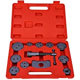 BISOZER Disc Brake Caliper Wind Back Tool Kit, for Automobiles Trucks/Cars Vehicle Tools Car repair | 12-Piece Set
