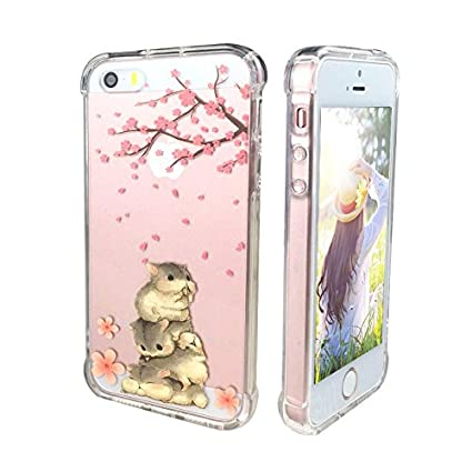 Amazon.com: Ftonglogy - Carcasa para iPhone 5 y 5S, diseño ...
