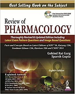 Buy Review Of Pharmacology With Dvd Rom Book Online At Low Prices In