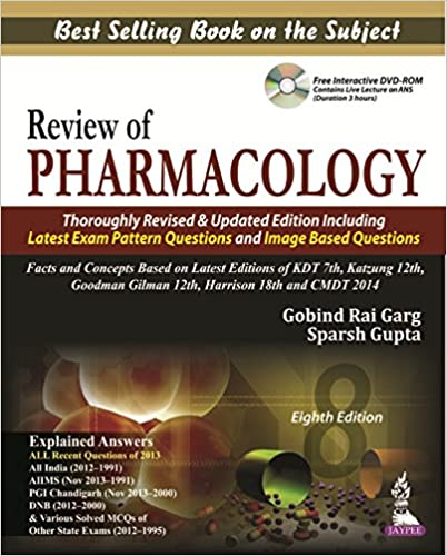 Review Of Pharmacology By Sparsh Gupta Pdf