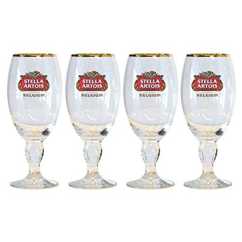 Stella Artois Belgian Chalice Glasses