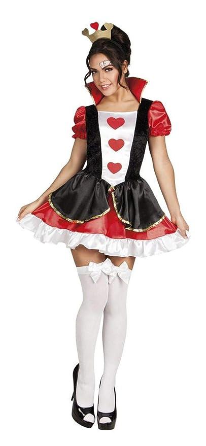 Boland Regina di Cuori Costume Donna per Adulti d8a755aef48