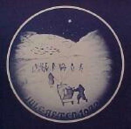 Christmas In Greenland.Amazon Com 1972 Bing Grondahl Christmas Plate Christmas