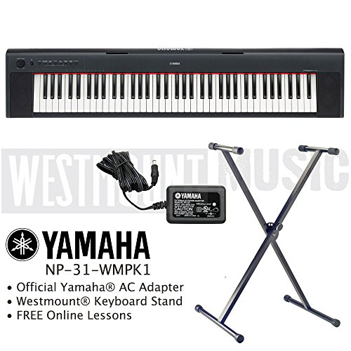 yamaha np 32 piaggero portable digital piano keyboard