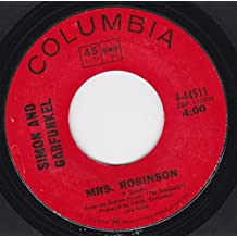 "45vinylrecord Mrs Robinson/Old Friends/Bookends (7""/45 rpm)"
