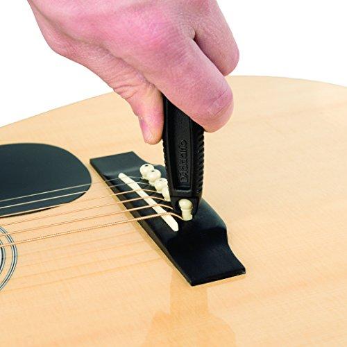 Accesorios D'Addario Pro-Winder Cuerda y cortador de cuerdas para guitarra - All-In-1 Restringing Tool - Incluye Clippers, Extractor de pines, enrollador de clavijas - Diseñado para adaptarse a la mayoría de las guitarras