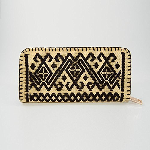 Mazahua-inspired, Mexican, Hand Embroidered, Cross Stitched Diamond crosses - Outfits Indie Cute