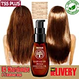 TSSPLUS 2018 Hot Natural Morocco Oil Moisturizing Damaged Hair ,dry shampoo,hair loss shampoo,oil hair growth,Dry Professional Maintenance Repair Hair mask Keratin Treatment 30ml
