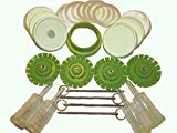 PicklePusher Lite Fermenting System for mason jar fermenting. Great for kraut (4, lime)