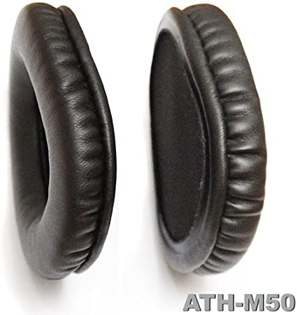 For ATH-M50 /& ATH-M50S Headphones Audio Technica Replacement Ear Pads Pair