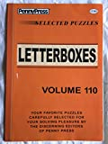 Penny Press Selected Puzzles Letterboxes *Volume 110* Special Collection