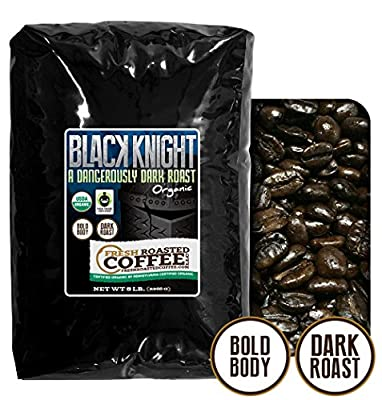 Black Knight Dark Roast OFT Coffee, Fresh Roasted Coffee LLC. from Fresh Roasted Coffee LLC.