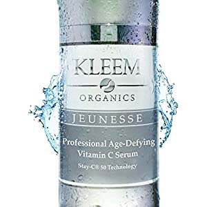 NEW Improved Vitamin C Serum for Face with 25% Vitamin C, 10% Hyaluronic Acid & Vitamin E Oil, that Helps Fade Age Spots, Clear Adult Acne & Get Rid of Wrinkles for a Glowing & Younger Looking Skin