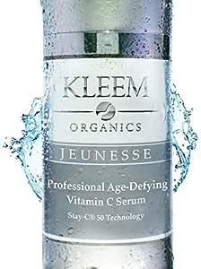 El Mejor Suero Vitamina C Para la Cara con Acido Hialuronico que Garanzia un Efecto Visibile Anti Etad, Riduciendo las Arrugas y las Manchas de la ...