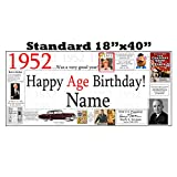 1952 PERSONALIZED BANNER by Partypro