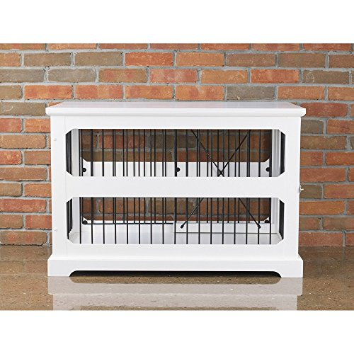 zoovilla Medium Slide Aside Crate and End Table (Merry Products Dog Crate With Wooden Cover)