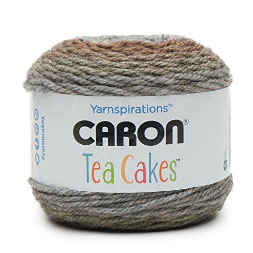 Caron Tea Cakes Acrylic-Wool Blend Yarn ~ 8.5 oz. Each (English Breakfast)