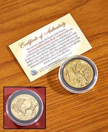 Buffalo Gold or Trillion Dollar Collectible Coins (American Buffalo) - Collectibles