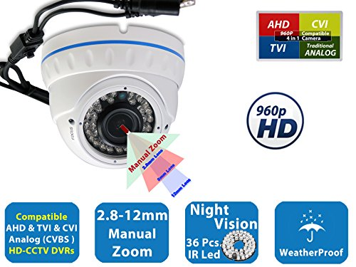 Evertech 960 P , 36 IR LED Color, 2.8~12mm Wide Angle Manual