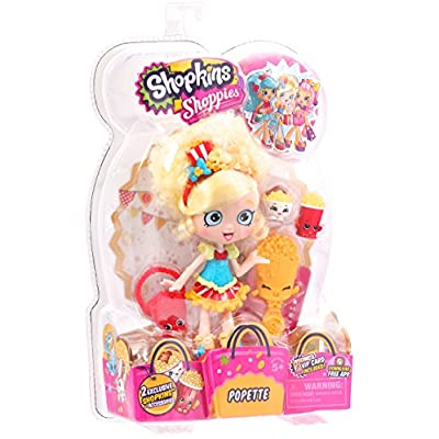 Shopkins Shoppies S1 Doll Pack Popette: Toys & Games