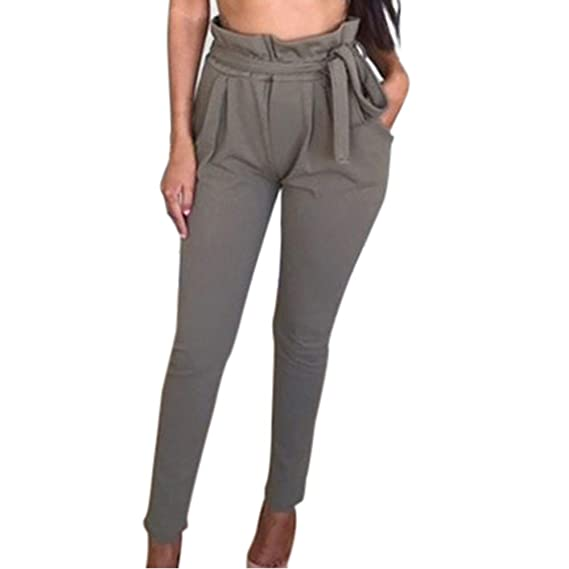 Strir Pantalones Para Mujer Verano 2019 Casual Pantalones De
