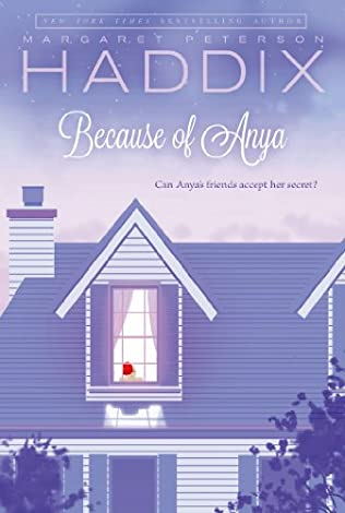 book cover of Because of Anya
