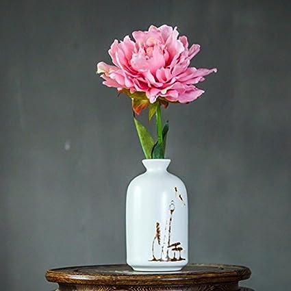 Chino jade emulación de orquídeas de flores secas Flores flores kit muebles de salón el mueble