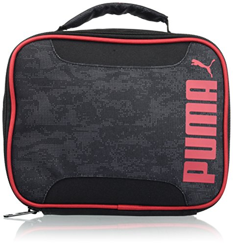 PUMA Big Kids' Evercat Lunchbox, black/red, OS