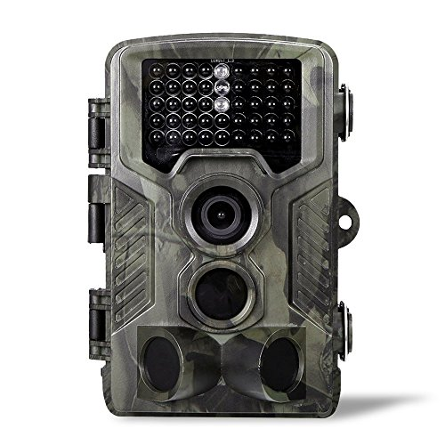 16MP 1080P 2G MMS SMS Wildlife Camera Hunting Game Camera with PIR Sensor Infrared Night Vision up to 65ft/20m 0.3s Super Fast Trigger IP65 Waterproof Design ()