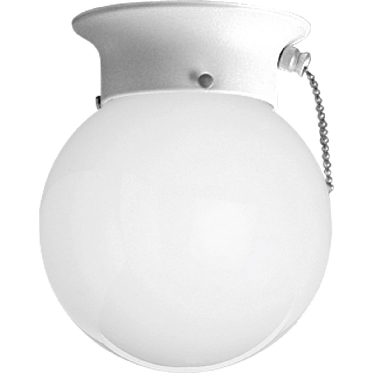 Progress lighting p3605 30sw ceiling fixture with white glass globe progress lighting p3605 30sw ceiling fixture with white glass globe and pull chain white semi flush mount ceiling light fixtures amazon arubaitofo Gallery