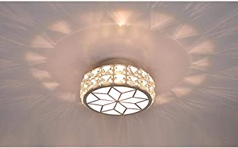 LED Pequeña Cristal Lámpara de techo Moderno Minimalismo Creativo ...