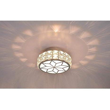LED Pequeña Cristal Lámpara de techo Moderno Minimalismo ...
