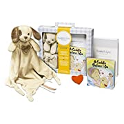 CuddleBright Experience Puppy Lovie Kit, Includes Security Blanket, Perfect Baby Gift for Newborns/Toddlers, Created by Child Development Experts