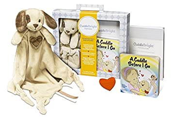 Amazon cuddlebright experience puppy lovie kit includes cuddlebright experience puppy lovie kit includes security blanket perfect baby gift for newborns negle Choice Image
