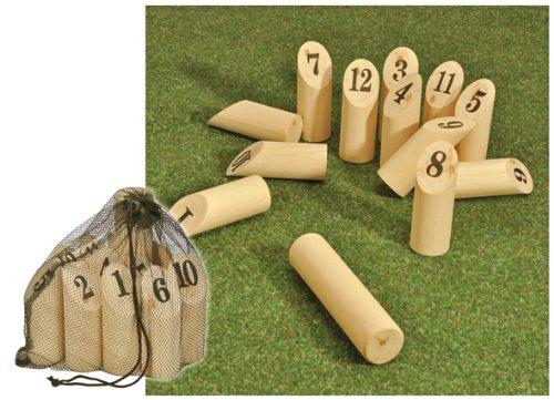 MQ Finnland Wurfspiel Wikinger Kegeln Holz Kegel Outdoor Garten