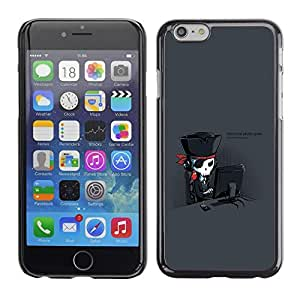 LECELL -- Funda protectora / Cubierta / Piel For Apple iPhone 6 Plus 5.5 -- Hardcore Pirate Geek --