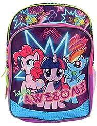 My Little Pony 16 Girls School Backpack - Light Up