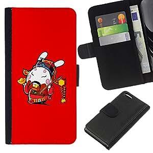 All Phone Most Case / Oferta Especial Cáscara Funda de cuero Monedero Cubierta de proteccion Caso / Wallet Case for Apple Iphone 5C // Funny Awesome Japanese Warrior