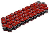 RK Racing Chain RR520MXZ4-120 Red/Steel 120 Link Heavy Duty Chain with Connecting Link