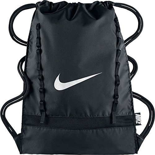 Nike Brasilia 7 Gym Sack Black/White Size One Size (Brasilia Nike Bag compare prices)